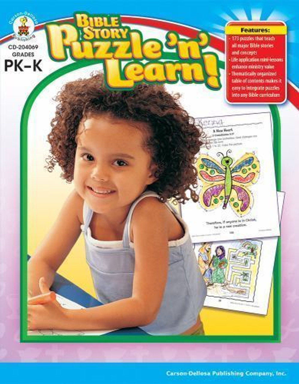 Bible Story Puzzle n Learn Grades PK-K