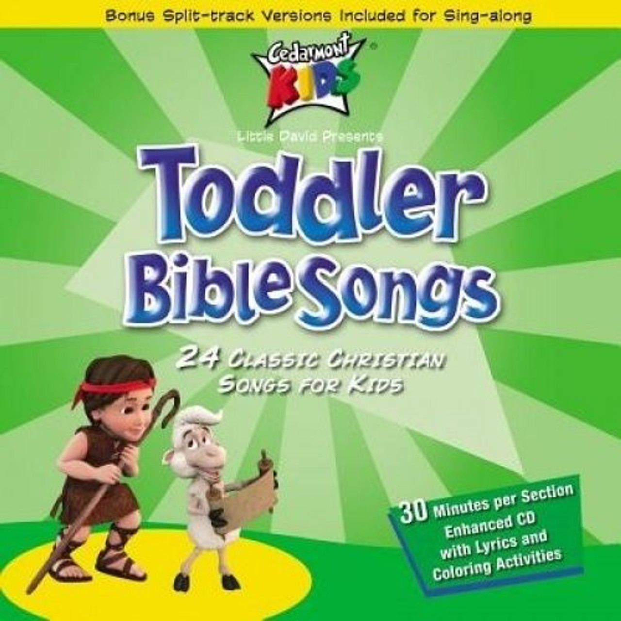 Toddler Bible Songs (music cd)