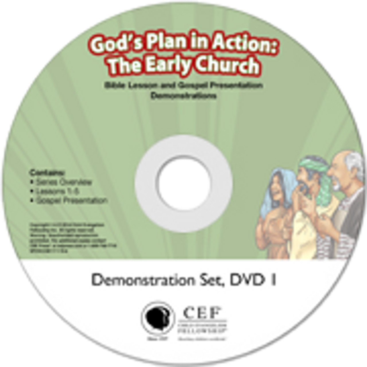 God's Plan in Action: The Early Church (demo) 2017
