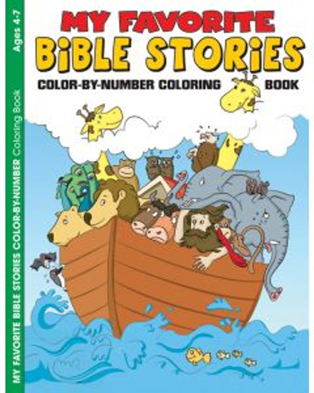 My Favorite Bible Stories (coloring book)