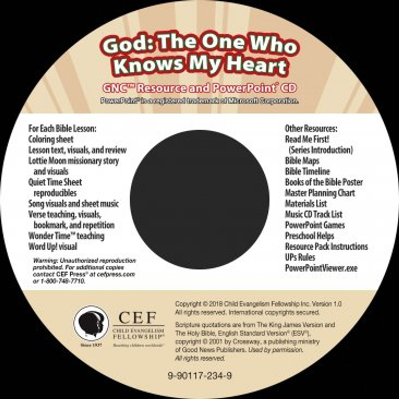 God: The One Who Knows My Heart (PPT) 2018