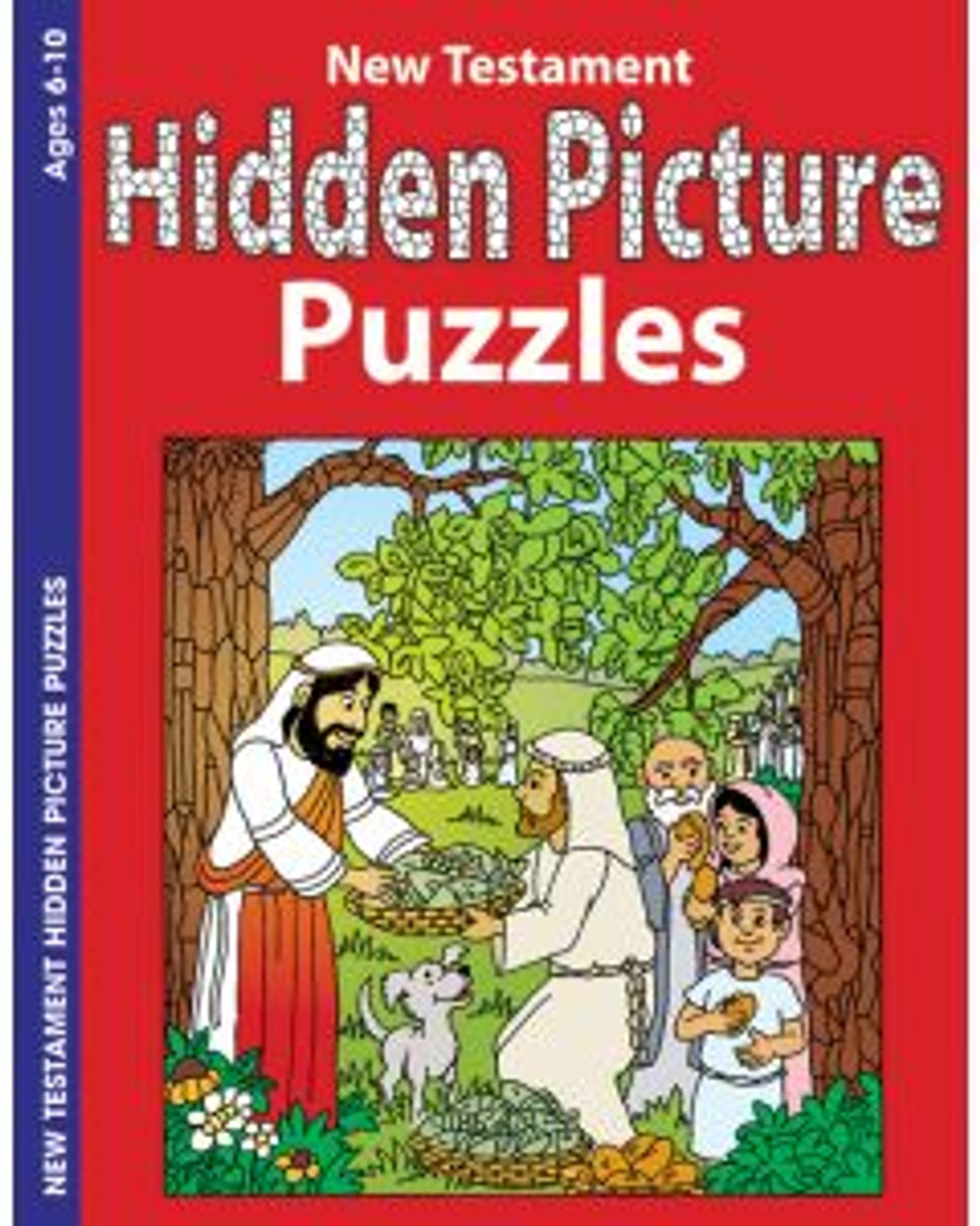 Hidden Pictures New Testament (activity book)