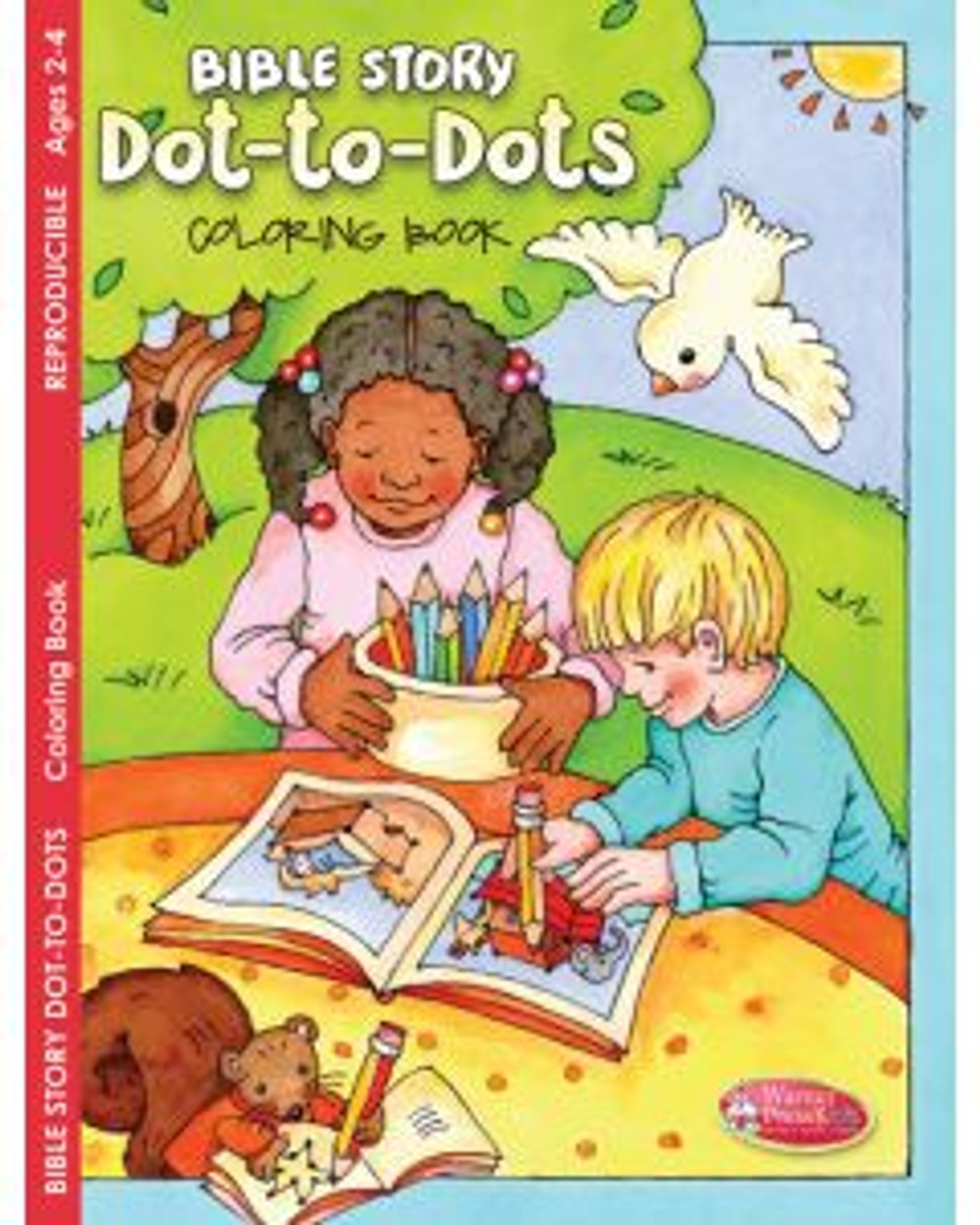 Bible Story Dot-to-Dots (coloring book)