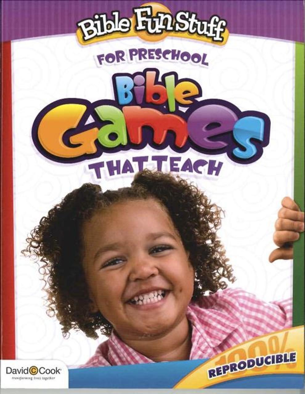 Bible Fun Stuff For Preschool Bible Games That Teach
