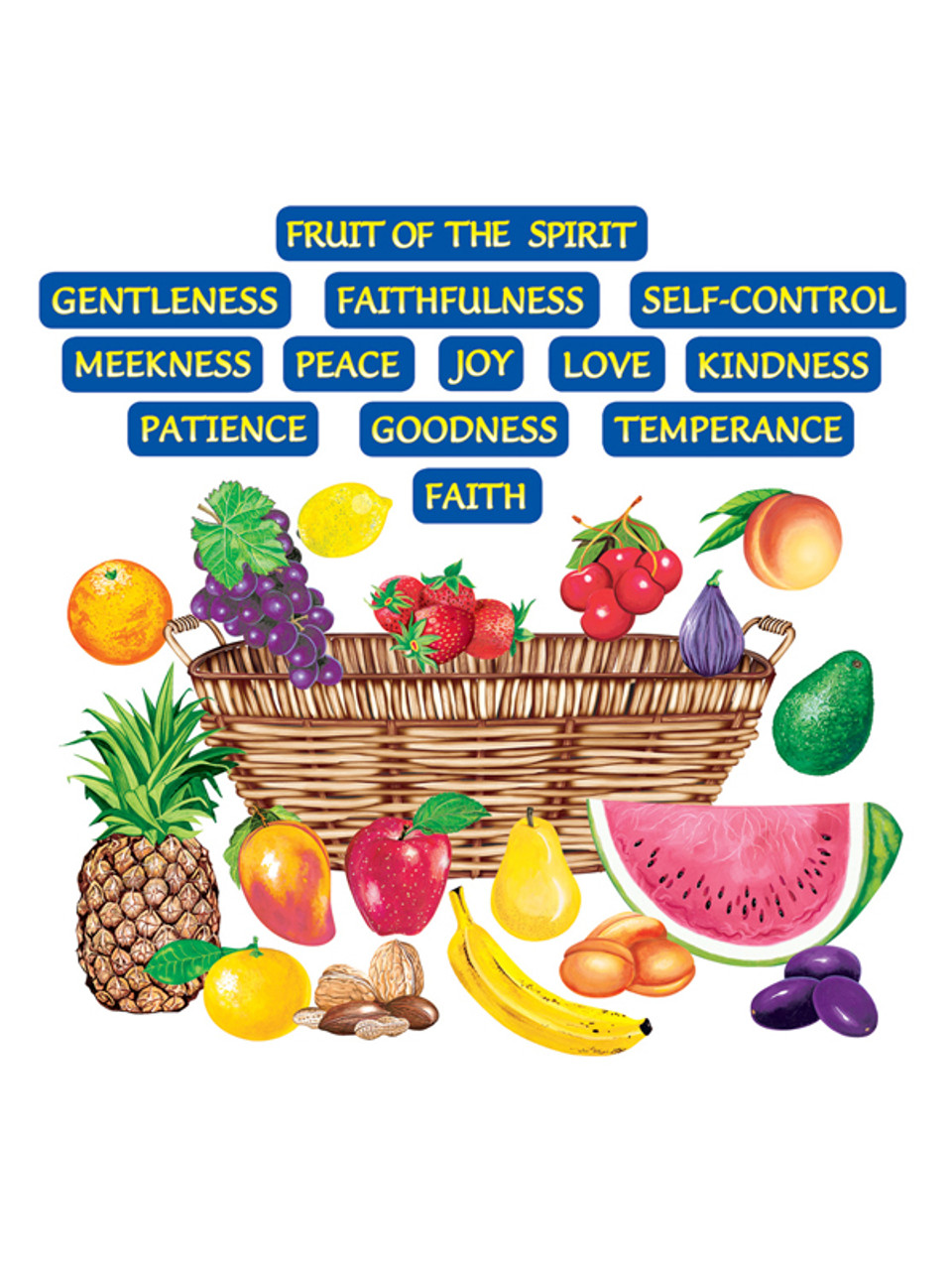Fruit of the Spirit (Pre-cut)