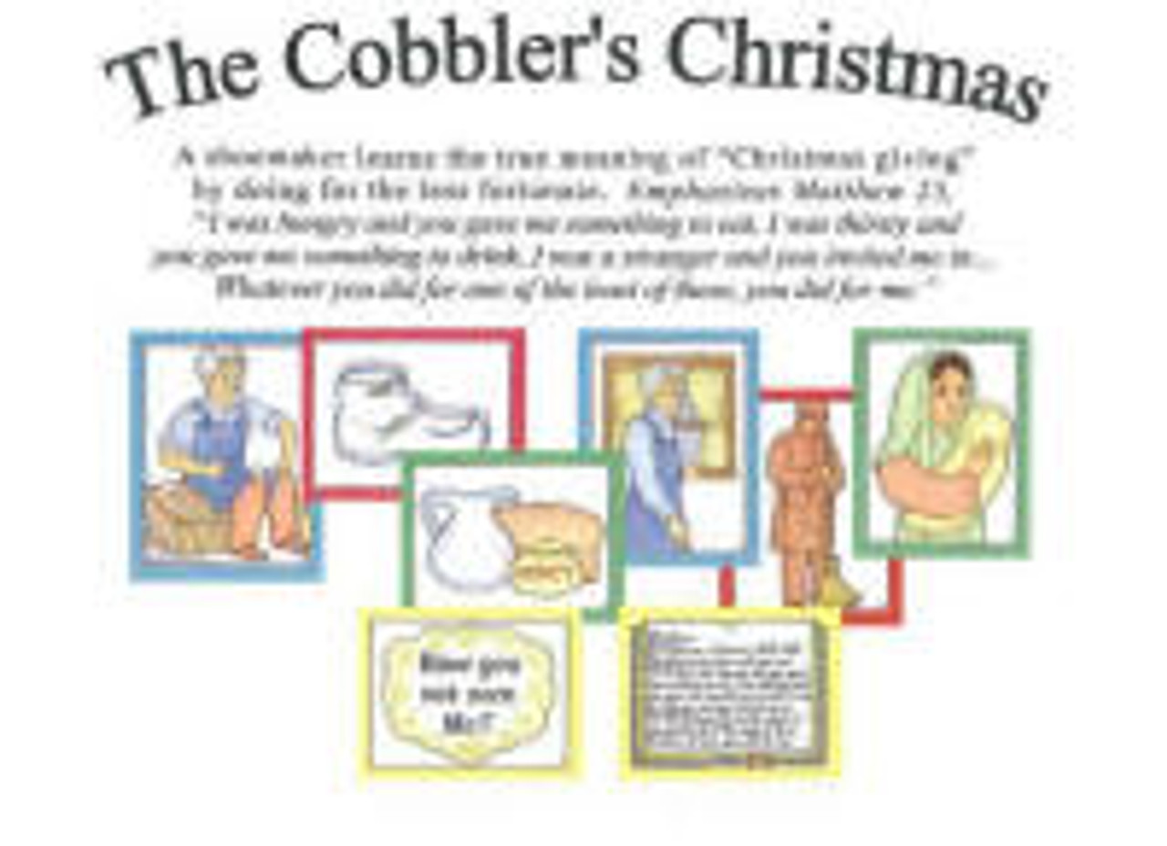 The Cobbler's Christmas (object story)
