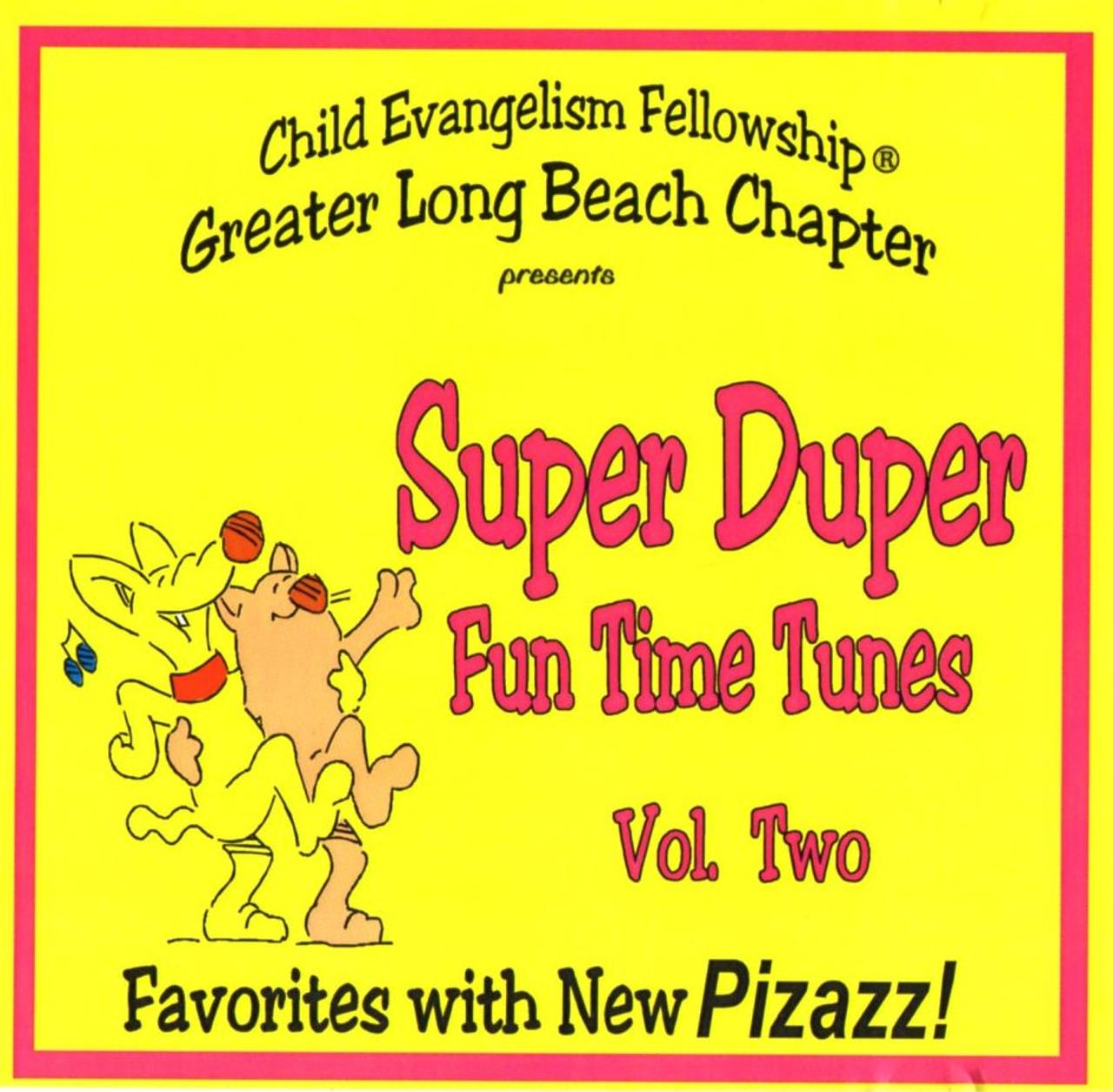 Super Duper Fun Time Tunes Vol. 2 (music cd)