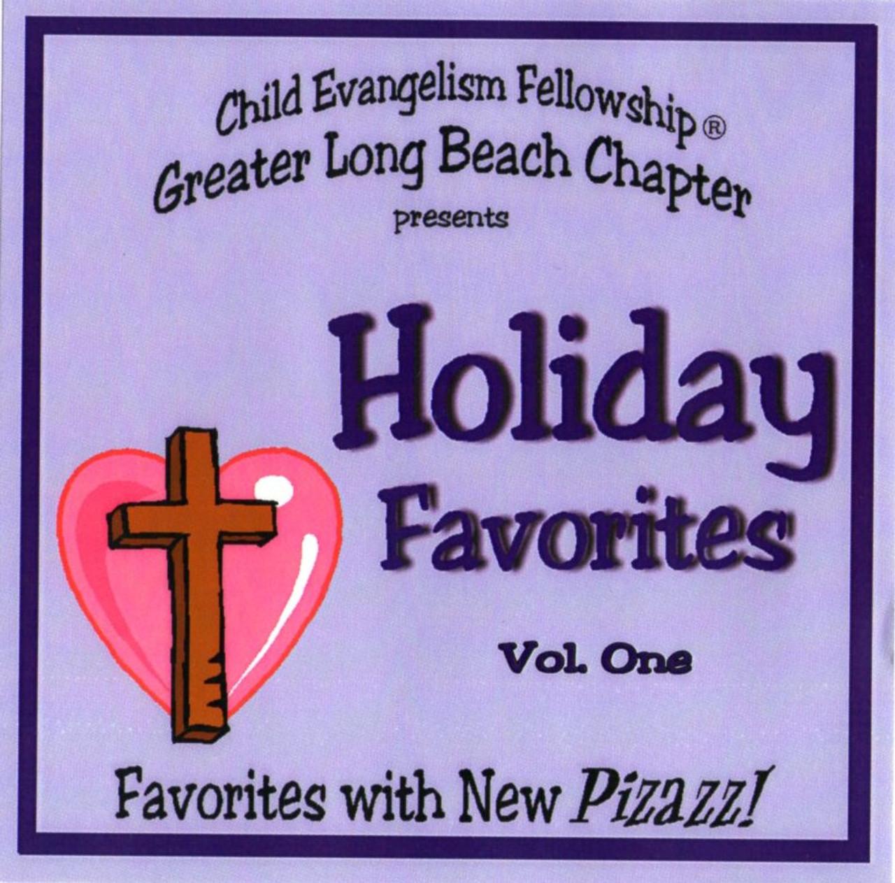 Holiday Favorites vol. 1 (music cd)