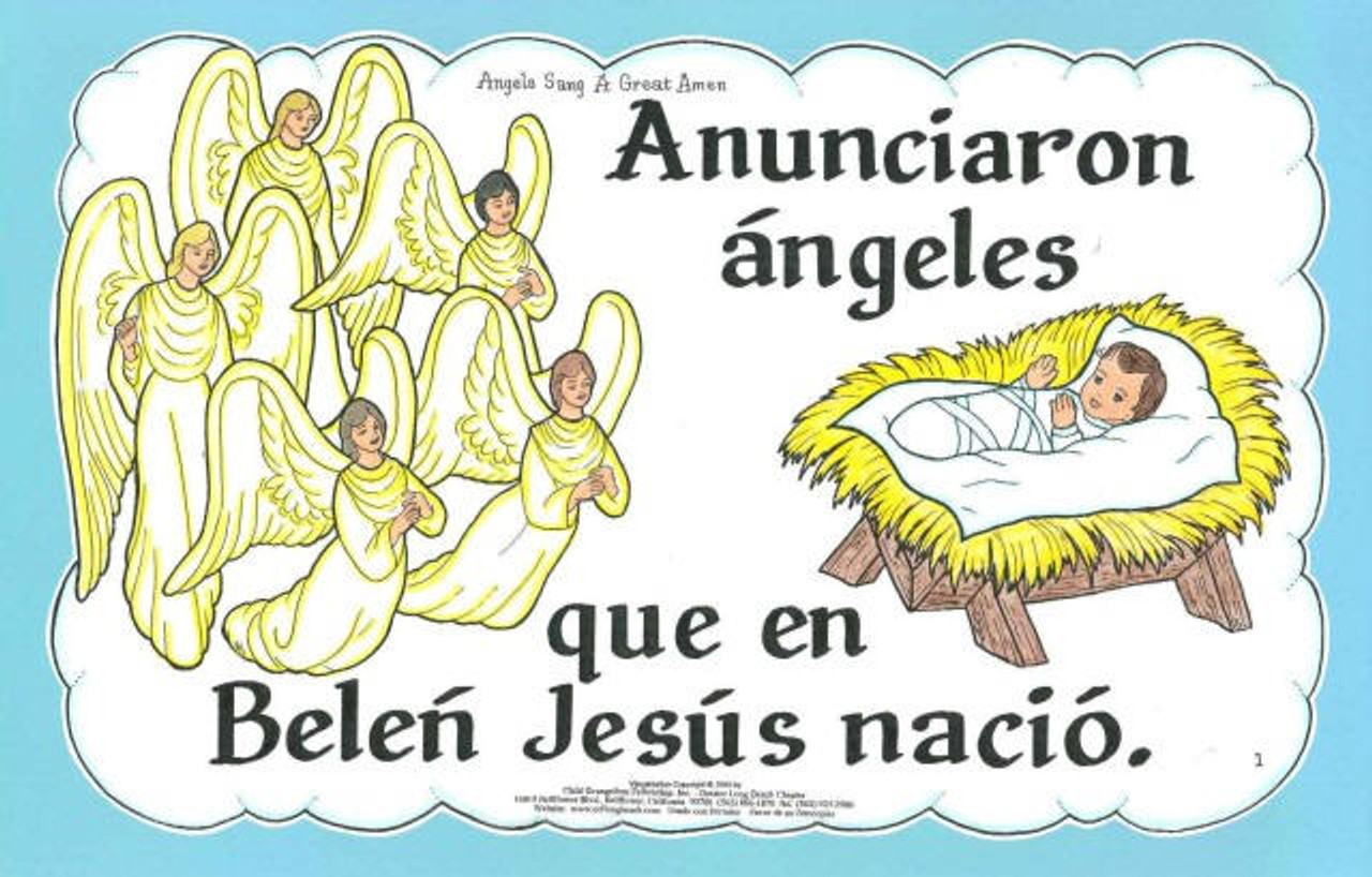 Anunciaron Ángeles (Angels Sang)