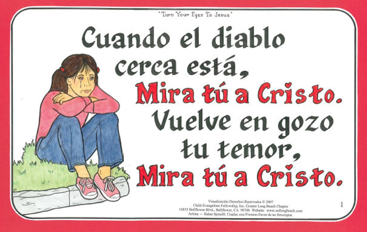 Mira Tu a Cristo (Turn Your Eyes to Jesus)