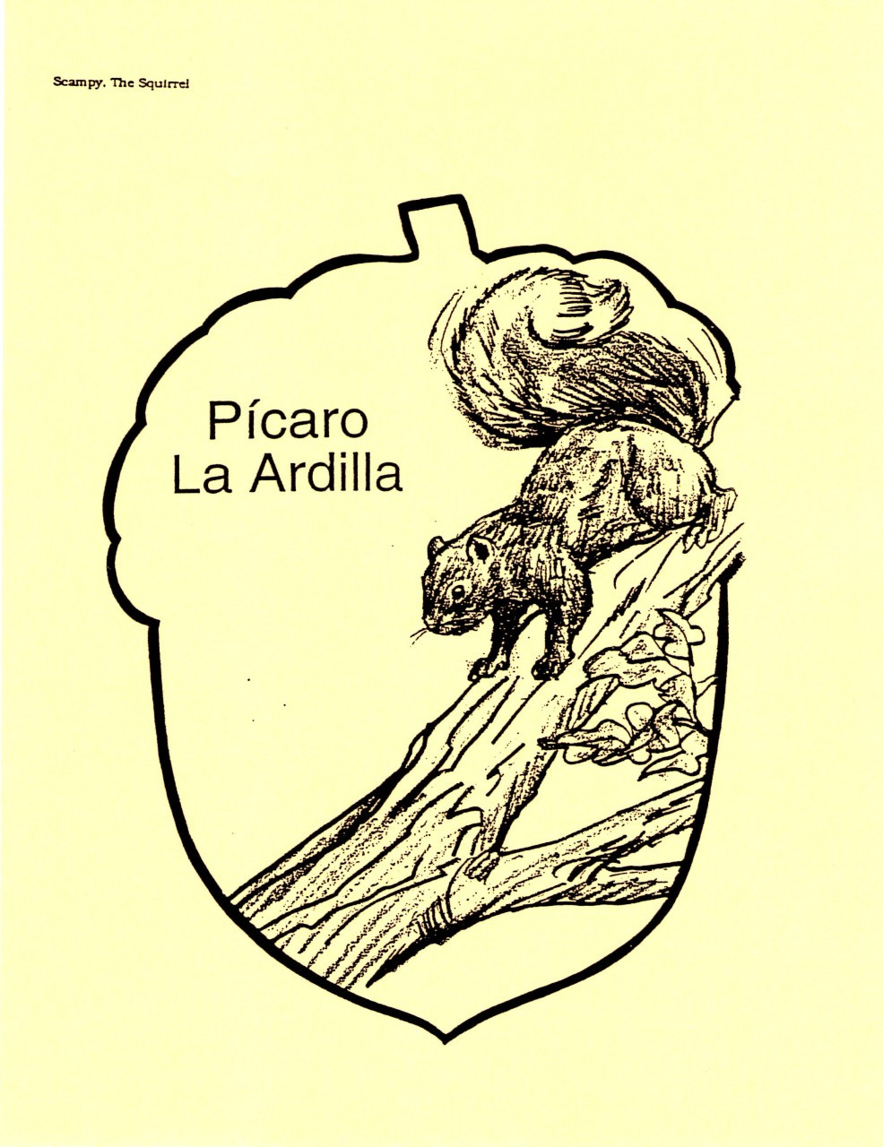 Picaro La Ardilla (Scampy The Squirrel)