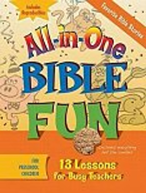 All in One Bible Fun Favorite Bible Stories Preschool
