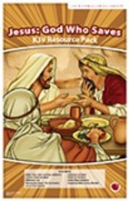 Jesus: God Who Saves (resource pack KJV)
