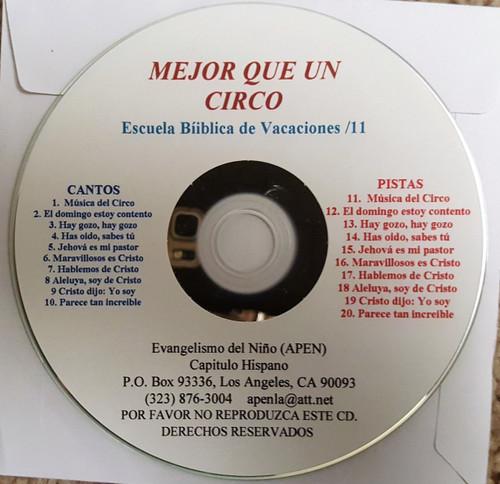 Mejor Que Un Circo (music cd)