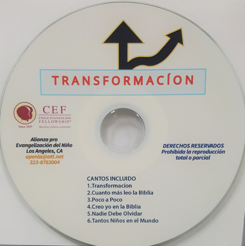 Transformacion (music cd)