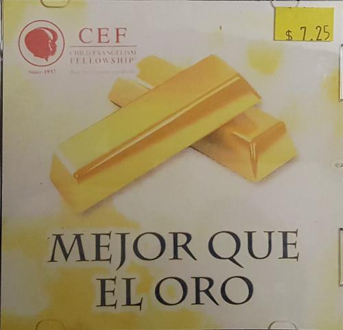 Mejor que el oro (music cd)