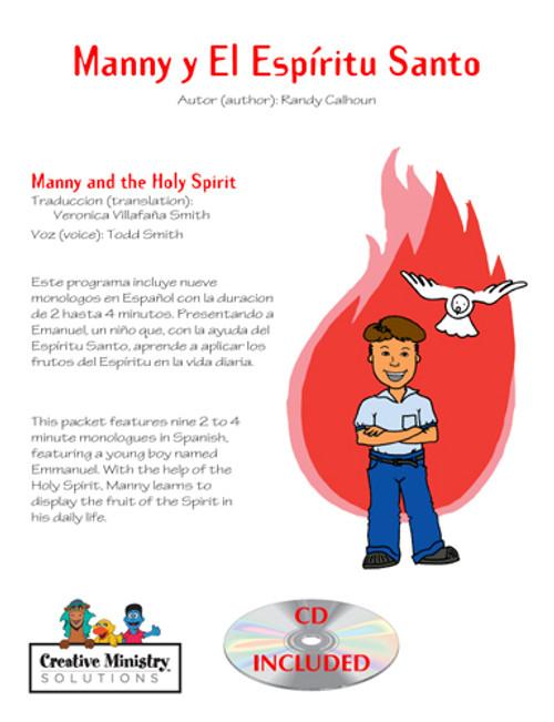 Manny y El Espiritu Santo (cd incluido)