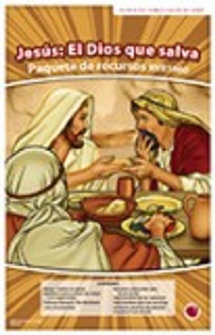 Jesus: El Dios que salva (paquete de recursos RVR 1960)