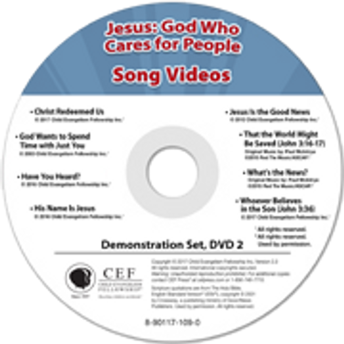 Jesus: God who cares for people (demo) 2017