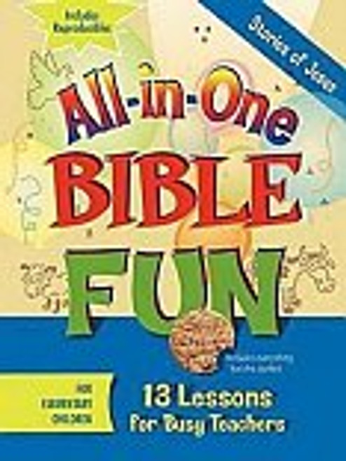 All in One Bible Fun Stories of Jesus Elementary