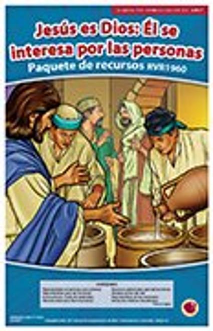 Jesus es Dios: El se interesa por las personas (paquete de recursos RVR 1960) 2017