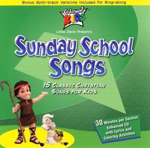 Sunday School Songs (music cd)