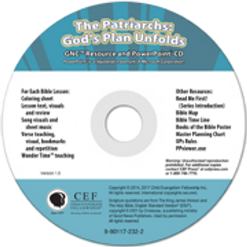 The Patriarchs: God's Plan Unfolds (PPT) 2017