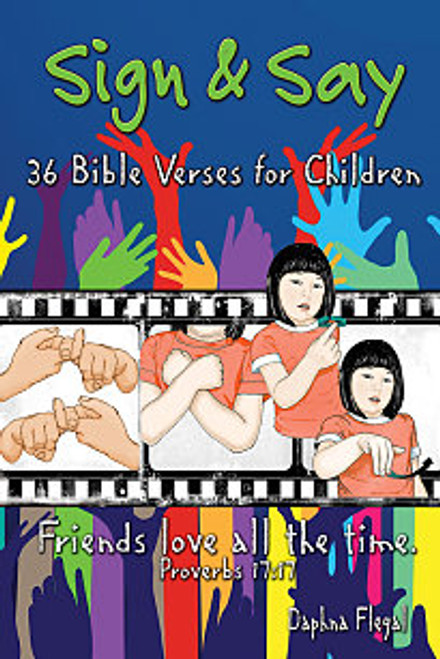 Sign & Say 36 Bible Verses for Children