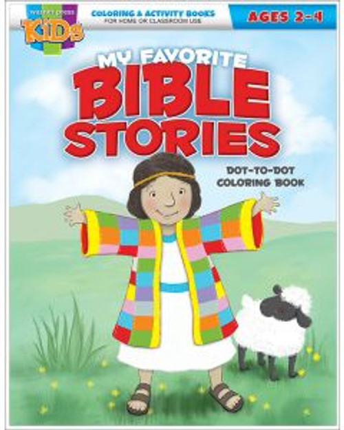 My Favorite Bible Stories (activity book)