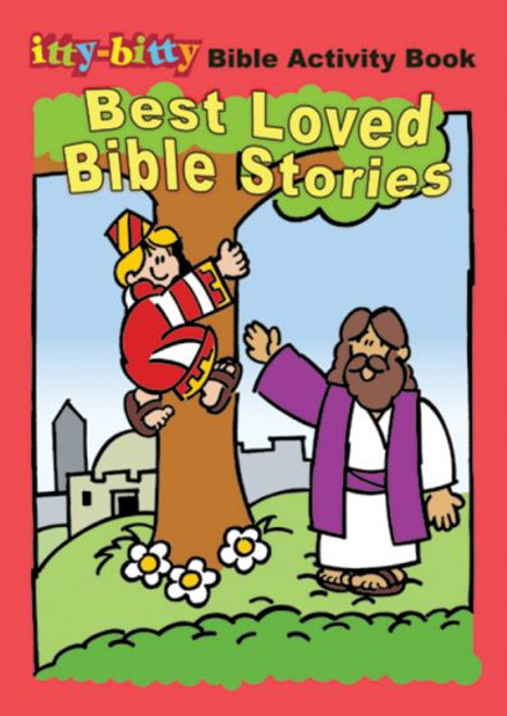 Best Loved Bible Stories (activity book)