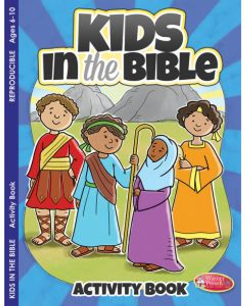 Kids in the Bible (activity book)