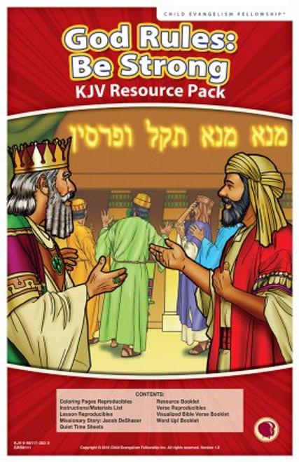 God Rules: Be Strong (resource pack KJV) 2018