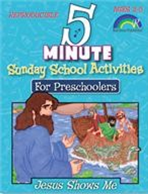 5 Minute Sunday School Activities for Preschoolers - Jesus Shows Me