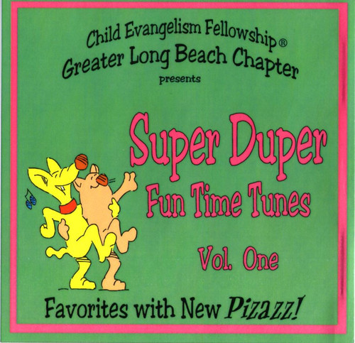 Super Duper Fun Time Tunes Vol. 1 (music cd)