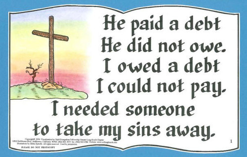 He Paid a Debt