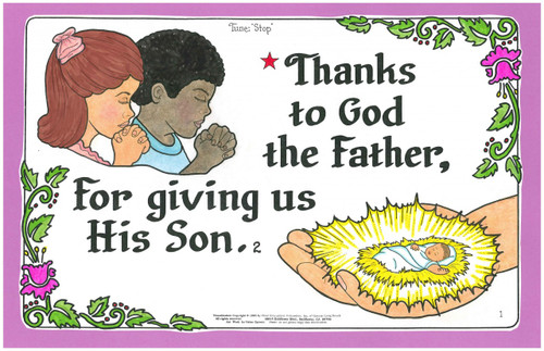 Thanks to God the Father