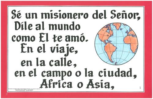 Se un Misionero (Be a Missionary)