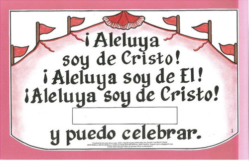 Aleluya Puedo Celebrar (Celebrate)
