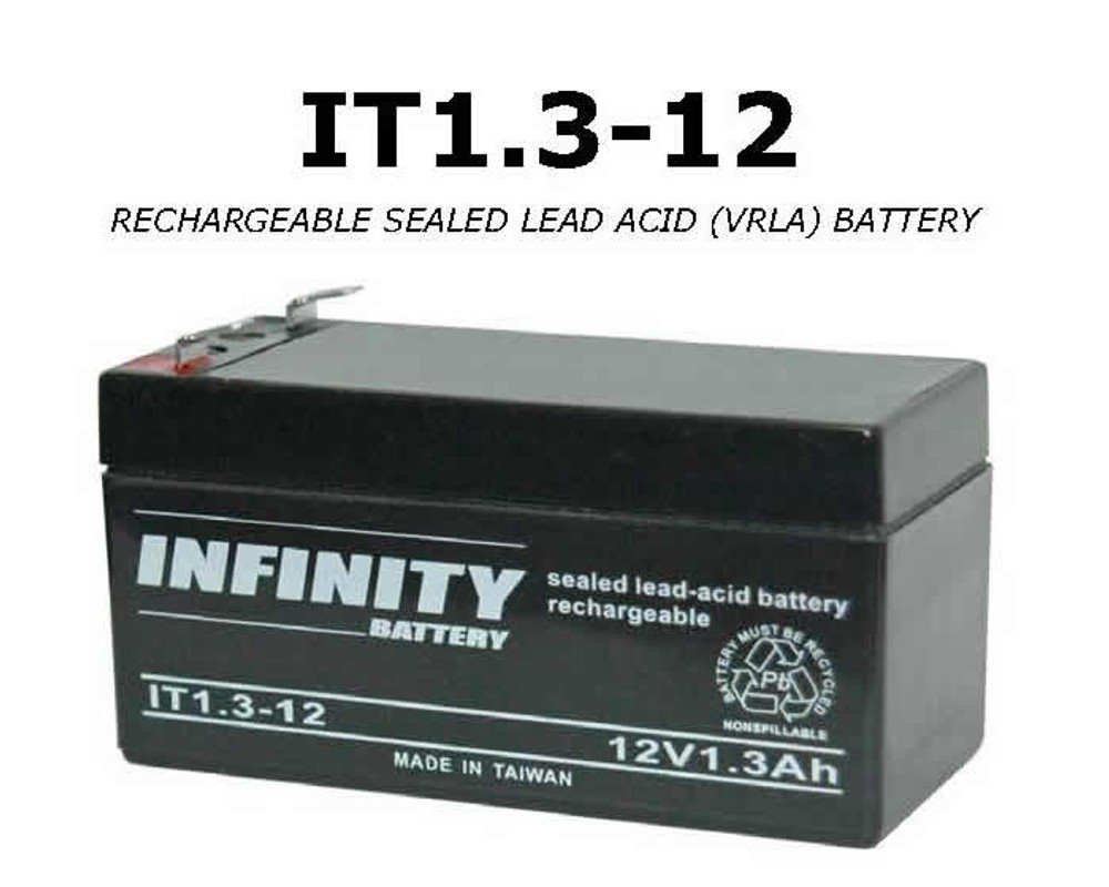 GS Infinity - IT 1.3-12 F1 - 12volt - 1.3Ah - F1