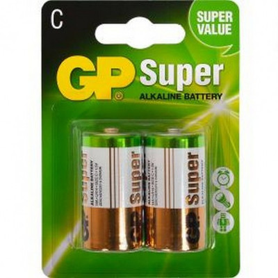 GP Alkaline C - GP14A-U2 (2 pack)