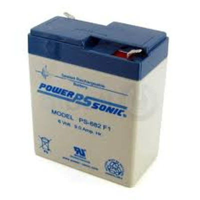 Powersonic - PS682 - 6 volt - 9.0Ah - F1