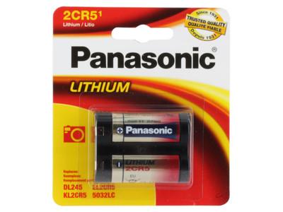 2CR5-P (Panasonic 2CR5 - 6V - Lithium 1pack)