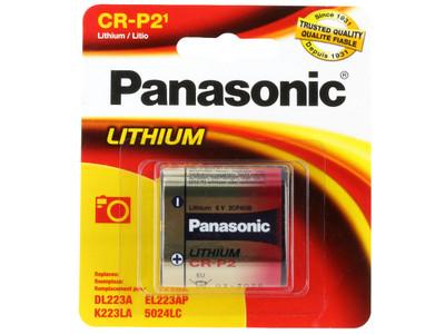 CRP2-P (Panasonic CR-P2 - Lithium 6V  1-pack)