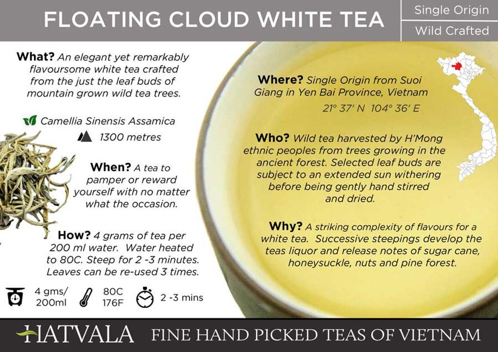 Floating Cloud Tea Card