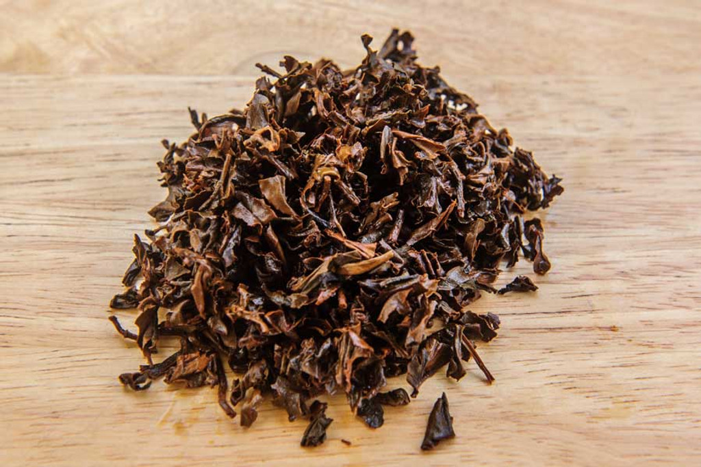 Wild Boar Black Tea Wet Leaves