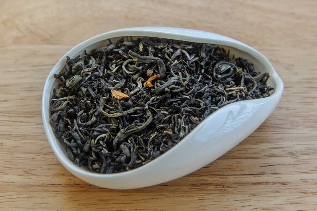 Autumn Jade Jasmine Tea Dry Leaves