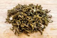 Lotus Green Tea Wet Leaves