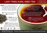 Lady Trieu Earl Grey Tea Card