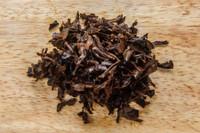 Black Jasmine Tea Wet Leaves