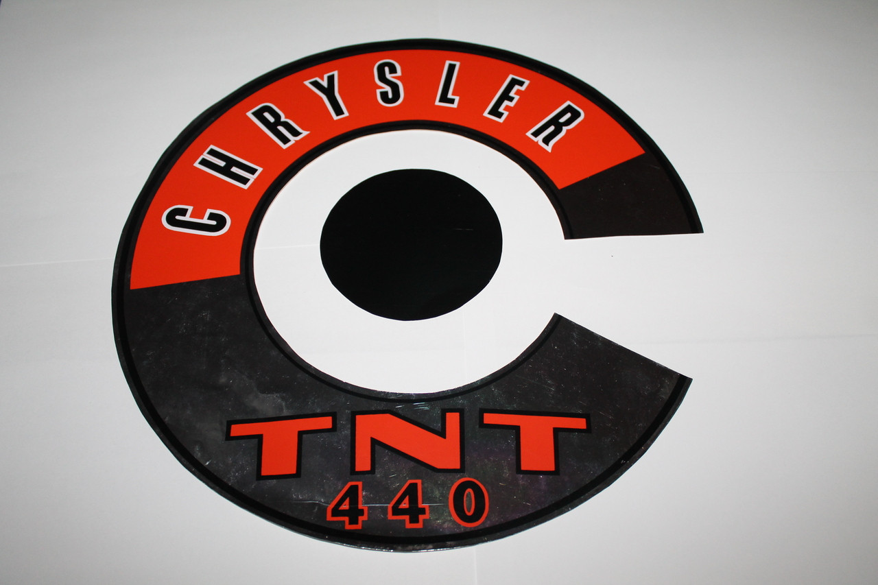 Decal Air Cleaner 69 72 Chrysler Tnt 440 Mrmoparts Ignition Wiring